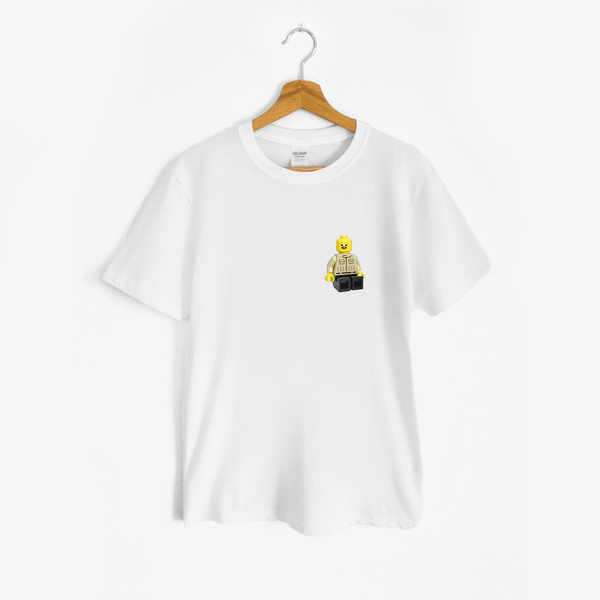 t shirt baffo mini
