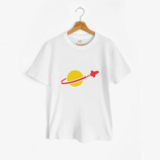 t shirt spazio